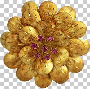 Gemstone Brooch Colored Gold Bracelet PNG
