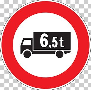 Large Goods Vehicle Traffic Sign Truck Road PNG