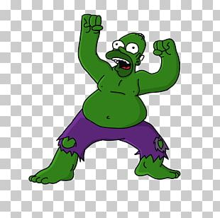 Hulk Homer Simpson Bart Simpson Drawing Fan Art PNG