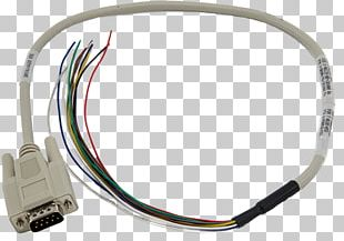 Serial Cable D-subminiature Serial Port RS-232 Data Cable PNG