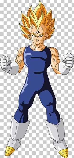 Goku Vegeta Trunks Majin Buu Cell PNG