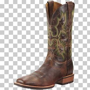 Cowboy Boot Ariat Riding Boot Leather PNG