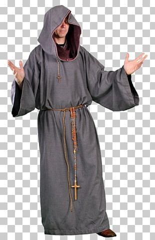 Middle Ages Monk Costume Monastery Art PNG