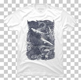 T-shirt Hoodie Sleeve White PNG