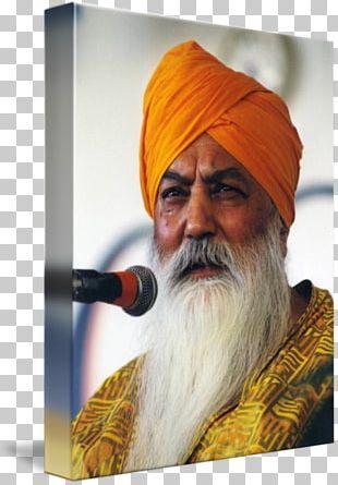 Harbhajan Singh Khalsa Gallery Wrap Summer Solstice Yogi PNG