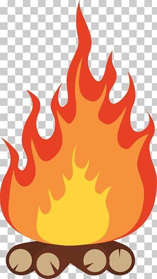 Campfire Bonfire Camping PNG