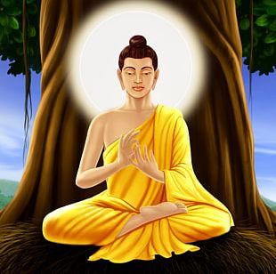Gautama Buddha Mahabodhi Temple Buddhahood History Of Buddhism PNG