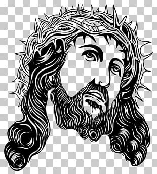 Crown Of Thorns Holy Face Of Jesus PNG