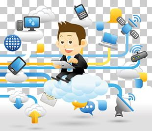 Cloud Computing Digital Data Digital Marketing Icon PNG