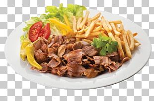 Doner Kebab Pizza Fast Food French Fries PNG