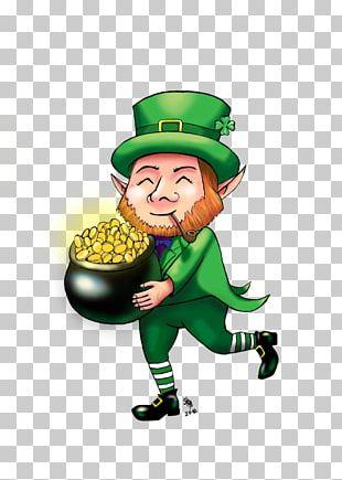 Saint Patrick's Day Ireland Leprechaun 2 PNG