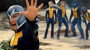 Magneto Professor X Mystique X-Men Film PNG