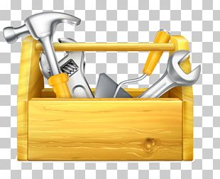 Toolbox Maintenance Illustration PNG