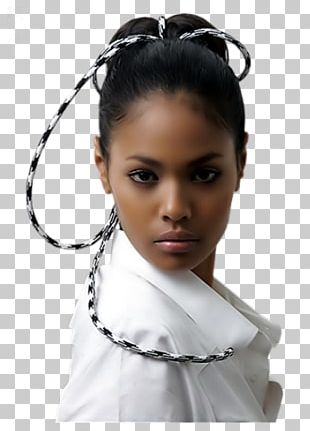 Black And White Woman PNG