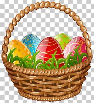 Egg In The Basket Easter Egg PNG