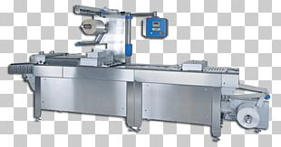 Thermoforming Packaging And Labeling Food Machine PNG