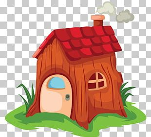 House Cartoon Fairy Tale PNG