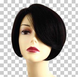 Black Hair Wig Hair Trend Inc PNG
