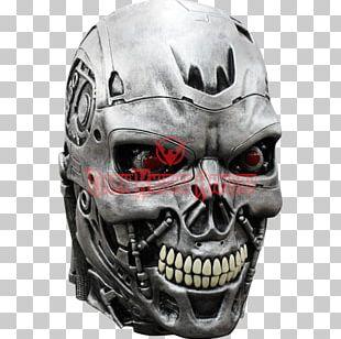 The Terminator Sarah Connor Skynet Mask PNG