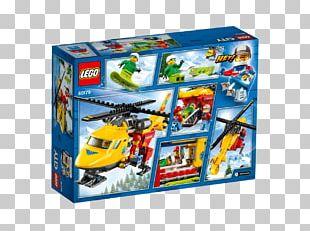 LEGO 60179 City Ambulance Helicopter Lego City Toy Hamleys PNG