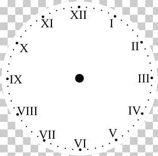 Roman Numerals Clock Face Numerical Digit Time & Attendance Clocks PNG