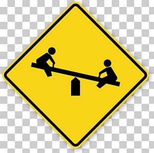 Slow Children At Play Traffic Sign Signage Playground PNG