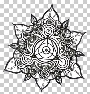 Tattoo Mandala Penrose Triangle Symbol PNG