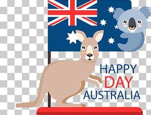 Australian Shepherd Flag Of Australia Australia Day Koala PNG