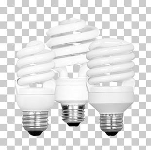 Incandescent Light Bulb Compact Fluorescent Lamp LED Lamp PNG
