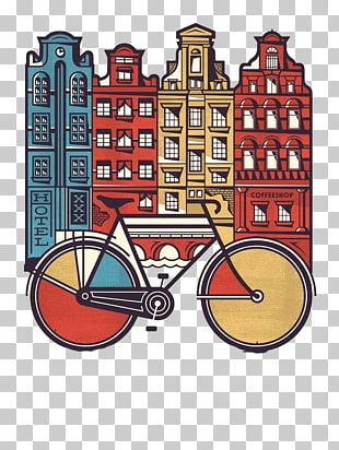 Amsterdam T-shirt Graphic Design Poster Illustration PNG