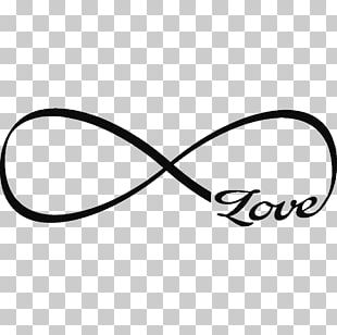 Sticker Infinity Symbol Tattoo Love Wall Decal PNG