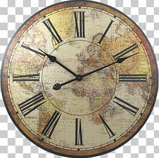Carriage Clock Antique Mantel Clock World PNG