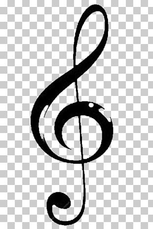 Drawing Musical Note Art PNG
