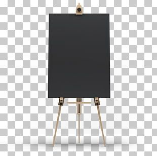 Table Easel Painting Canvas Art PNG