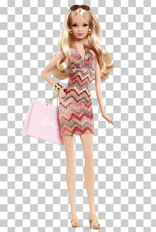 City Shopper Barbie Fashion Doll Collecting PNG