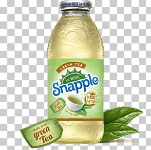Iced Tea Green Tea Juice Snapple PNG