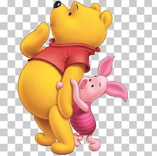 Winnie-the-Pooh Piglet Eeyore Roo Kanga PNG