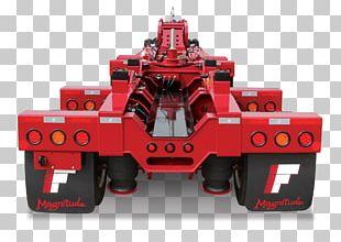 Trailer Flatbed Truck Lowboy Heavy Hauler Motor Vehicle PNG