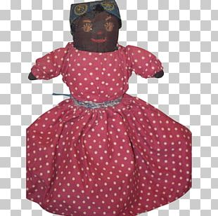 Polka Dot Pink M Outerwear Dress Costume PNG