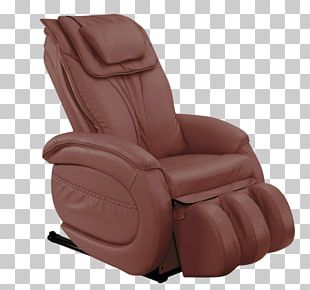 Recliner Massage Chair Eames Lounge Chair PNG
