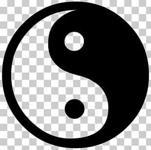 Yin And Yang Symbol Taijitu Desktop PNG