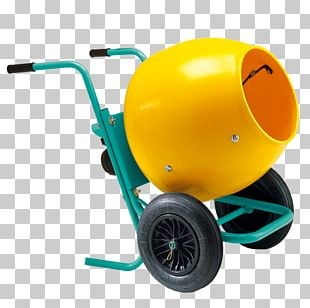 Cement Mixers Wheelbarrow Concrete Architectural Engineering PNG