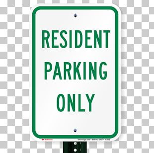 SmartSign Aluminum Sign Traffic Sign Signage Logo Parking PNG
