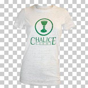 T-shirt Sleeve Bluza Logo Green PNG