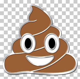 Pile Of Poo Emoji Bumper Sticker Decal PNG