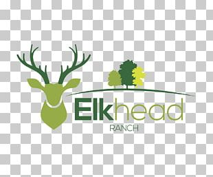 Red Deer Logo Elk PNG