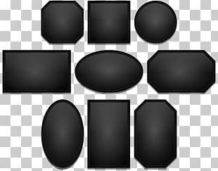 Black Color Frames Light PNG