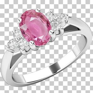 Diamond Ring Sapphire Gold Gemstone PNG