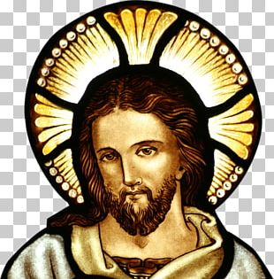 Jesus Stained Glass PNG