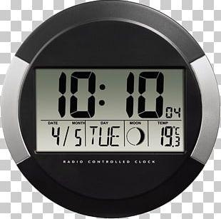 Radio Clock Digital Data Digital Clock Hama Photo PNG